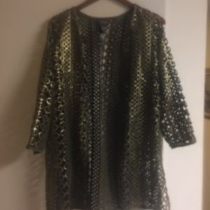 Chico Gold Over Green Woven Jacket - 67